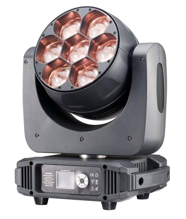 7X40W RGBW Zoom Moving Head Light