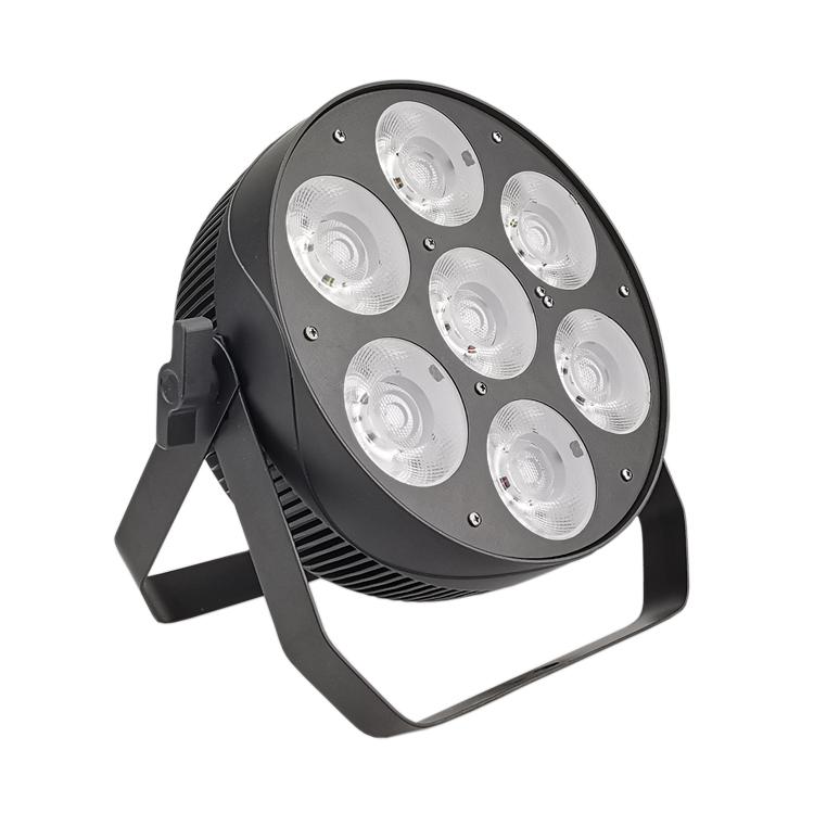 7PCS 40W 4IN1 RGBW LED MATRIX PAR LIGHT